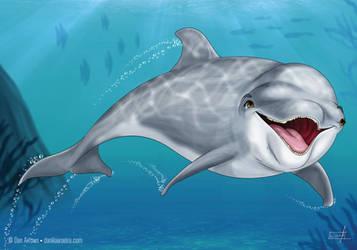 Dolphin by daniloaroeira