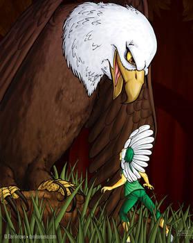 Lorena and eagle