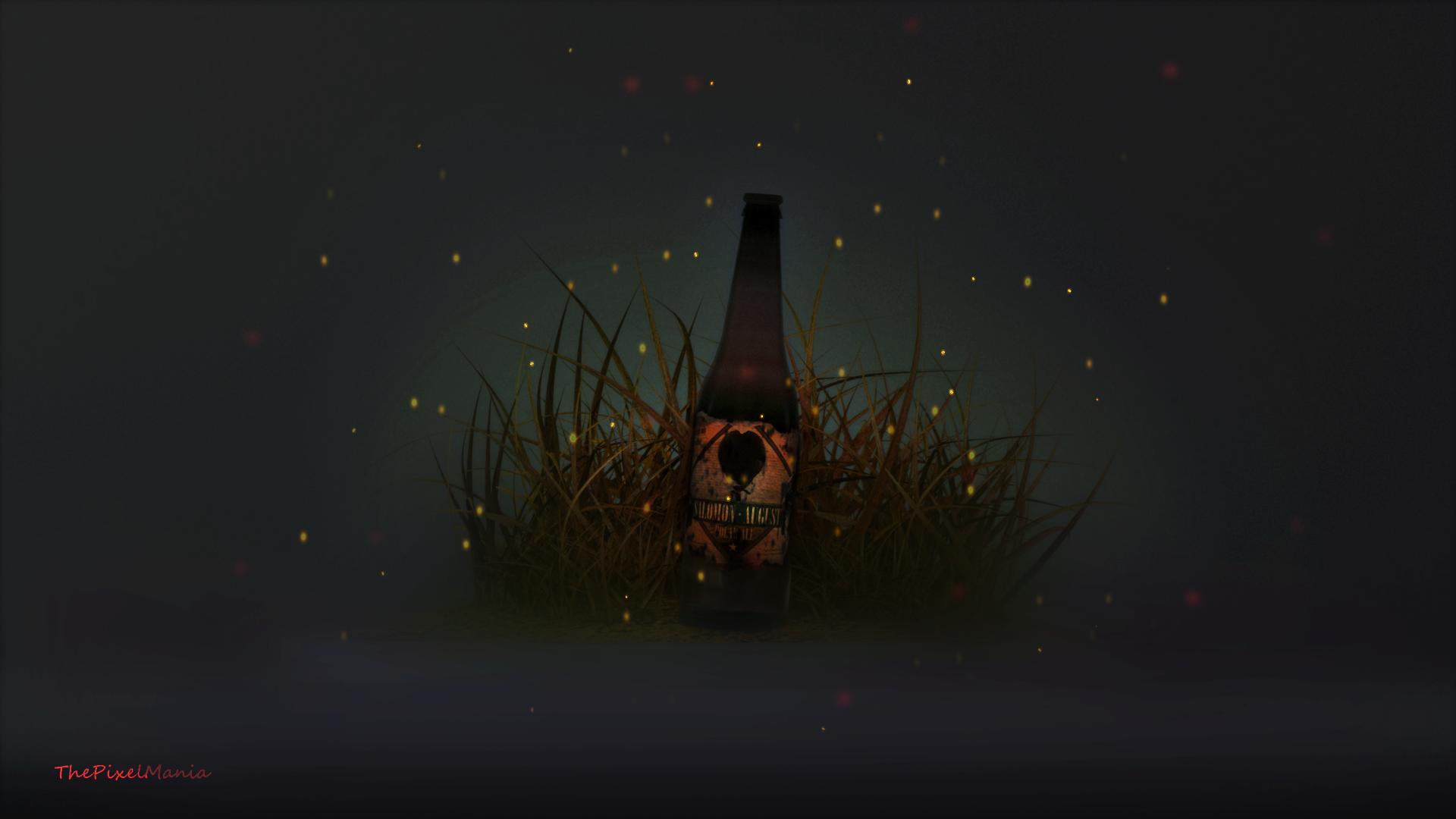 Updated2 Apparently Was Still Too Dark Bottle With Fireflies