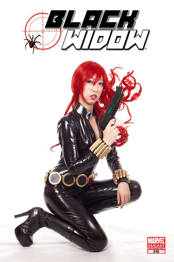 The Black Widow by mikuen-drops