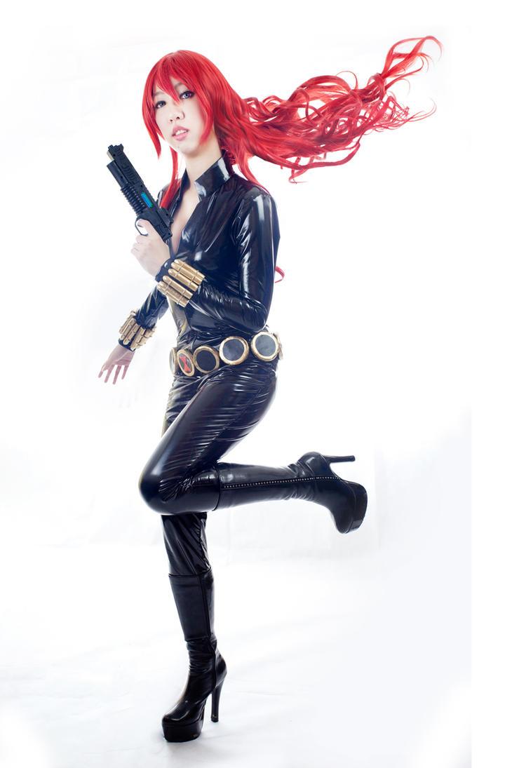 Shunya Yamashita's Black Widow by mikuen-drops