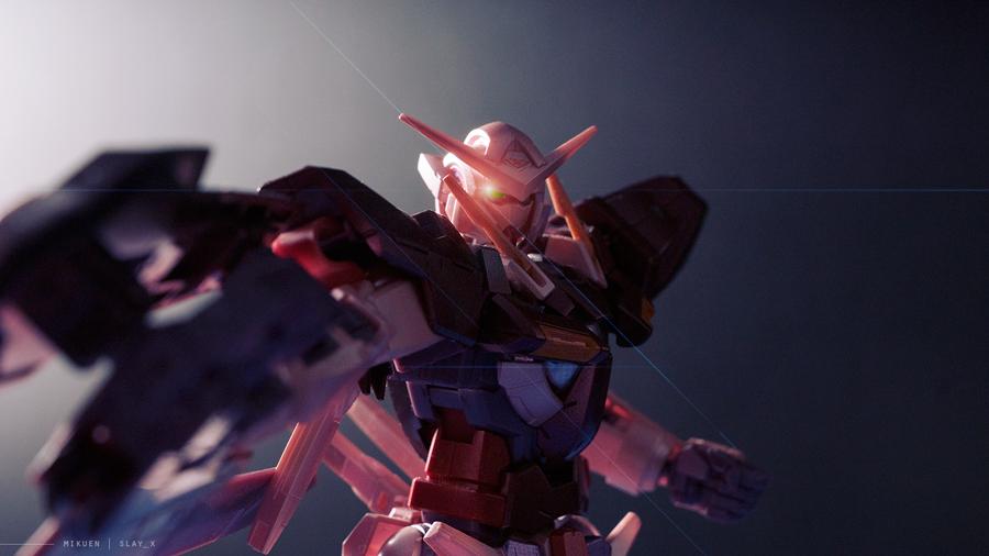 1/100 GN-001 Gundam Exia by mikuen-drops