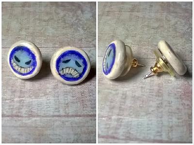 Portgas D. Ace Earrings by Miss-Kraken