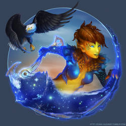 Bee and Astralaria - Guild Wars 2