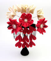 bridal hair comb by offgenemi