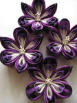Custom order Purple Orchids