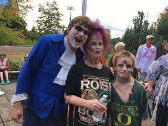 The zombies of Autzen Stadium by jmarkoff2