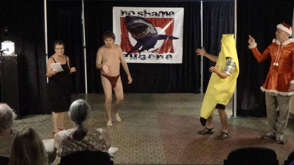 G string striptease at No Shame by jmarkoff2