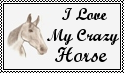Stamp Commission ~ I Love My Crazy Horse by SizzleLizzle
