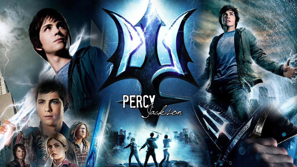 Percy Jackson - Wallpaper for desktop by Fantasy--Art on ...