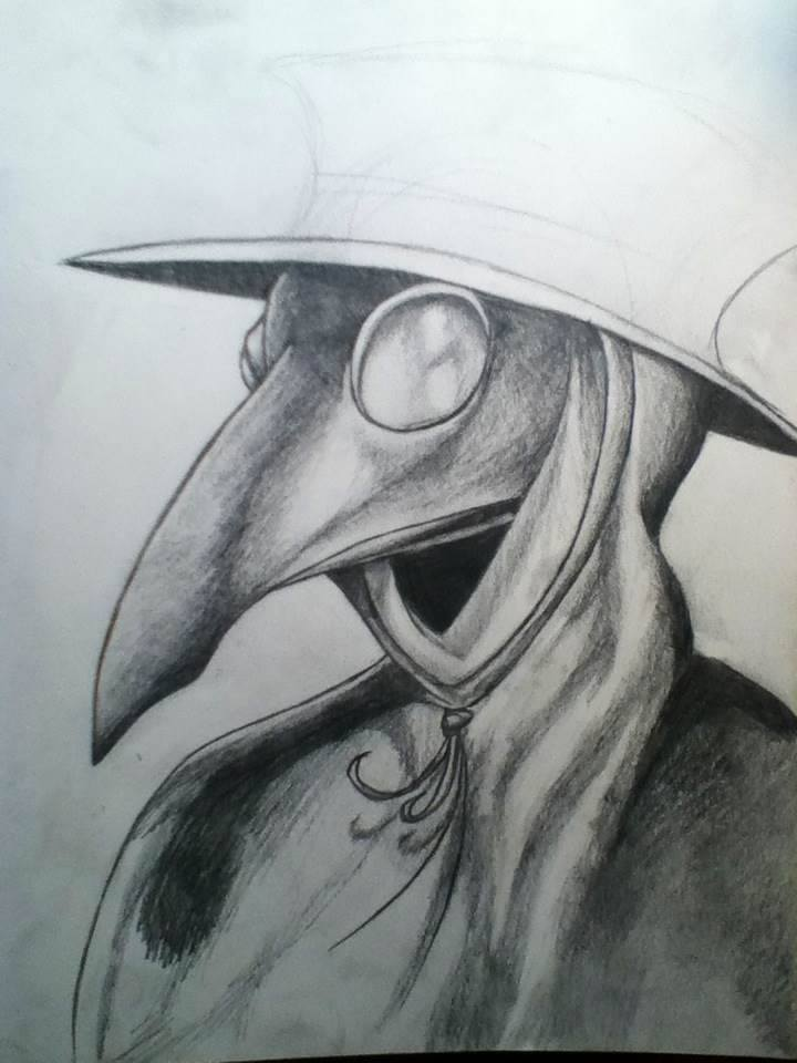 The Plague Doctor WIP by 1Master-Shake