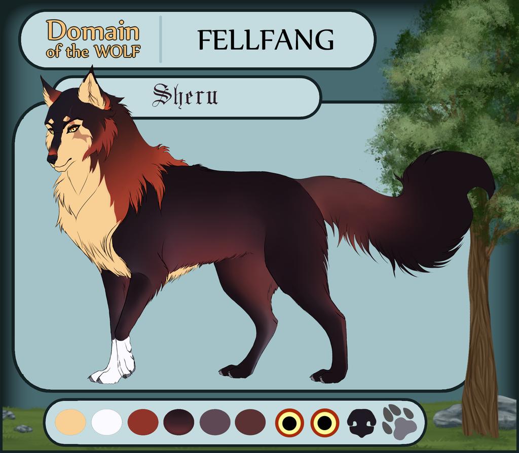 Dotw Fellfang application Sheru by ShishiNoSeirei