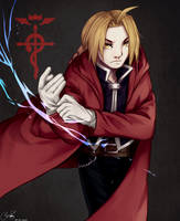 Edward Elric by Glacescup