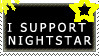 I support nightstar ~stamp~ (sorry its a fail) by s-t-e-f-f