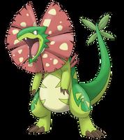 Fakemon: Grass Starter by Sketchasaurus