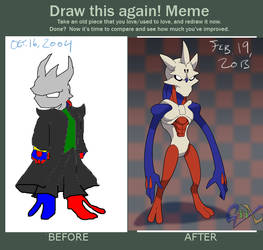 Draw this again: Redesigns and things