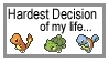 Hardest Decision Ever by weaver1217