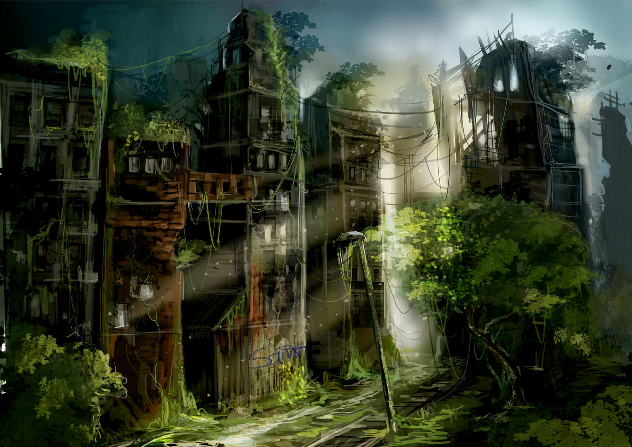 Games With House Building Reddit Green City By Phantagram On Deviantart