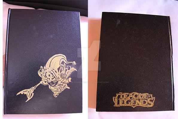 Lulu sketchbook personalized by BlackNightStar