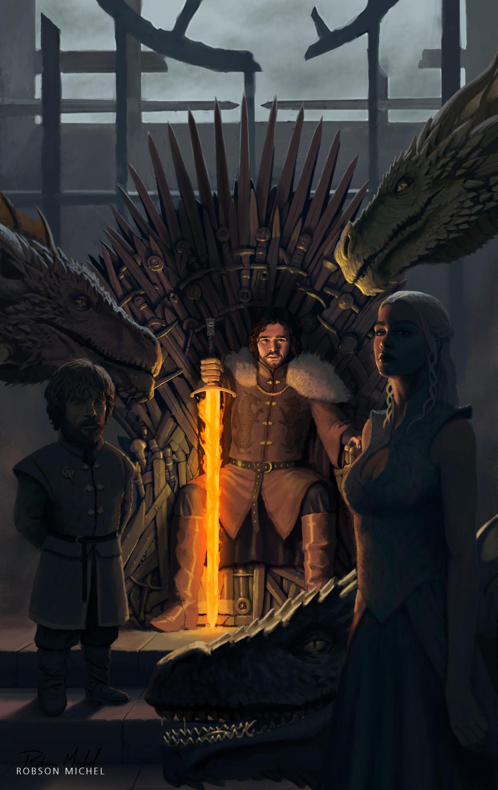 The Dragon has Three Heads by RoBs0n