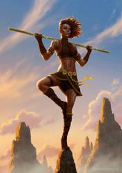 Diana, the Acrobat by RoBs0n