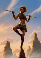Diana, the Acrobat