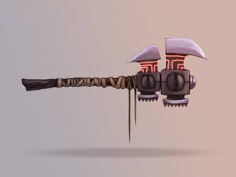 fire axe by ChuckyLarm