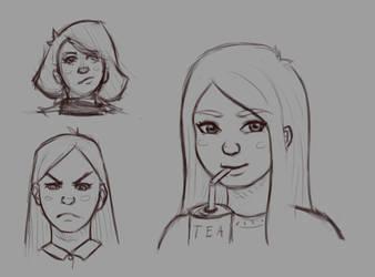 Faces by ChuckyLarm