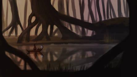 Swamp concept by ChuckyLarm