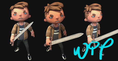 Character WIP!!!