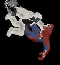 mr. Negative vs mr. Spidey (Spider-Man PS4)