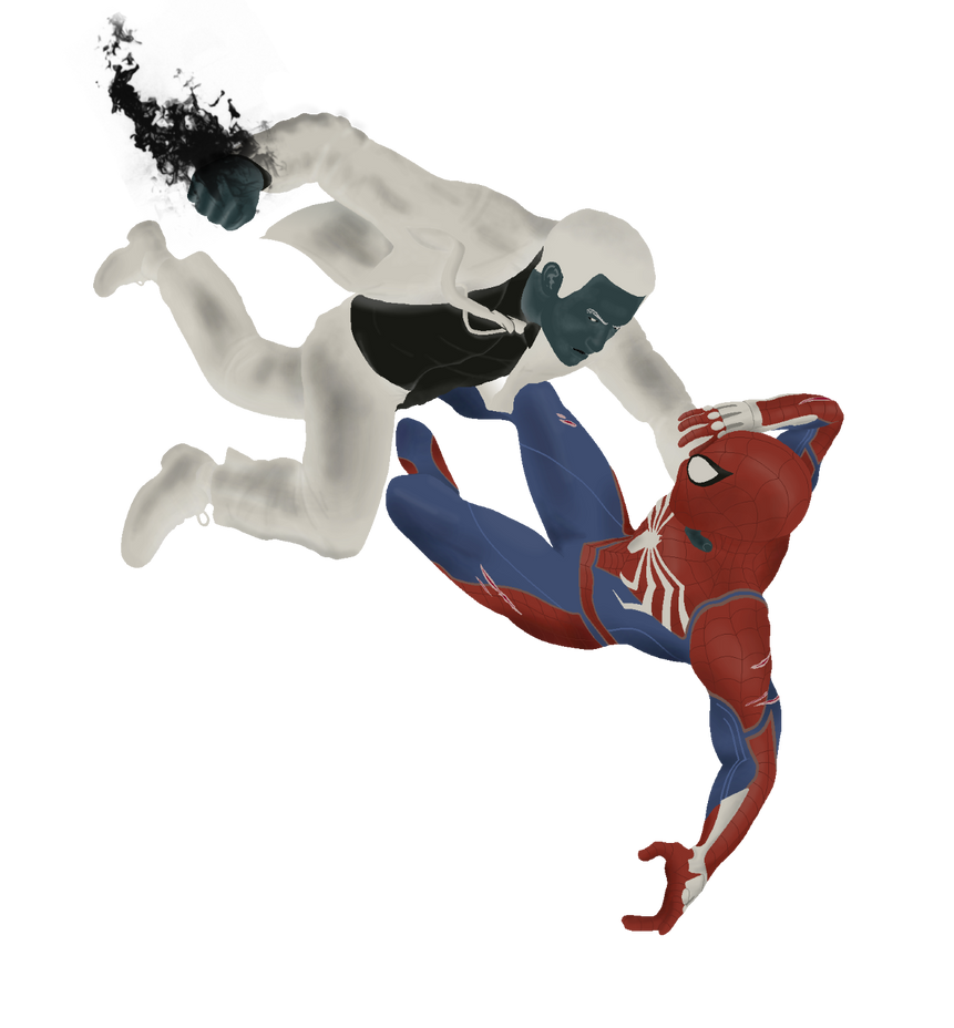 Spider man vs black widow marvel cosplay ballbusting 2