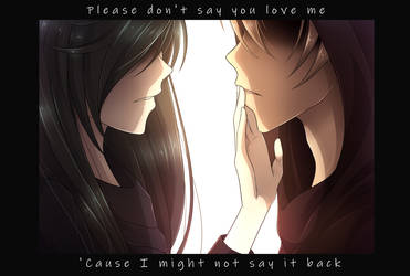 Please don't say by SilentxTime