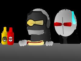 Ketchup and Mustard by Madmanaryf