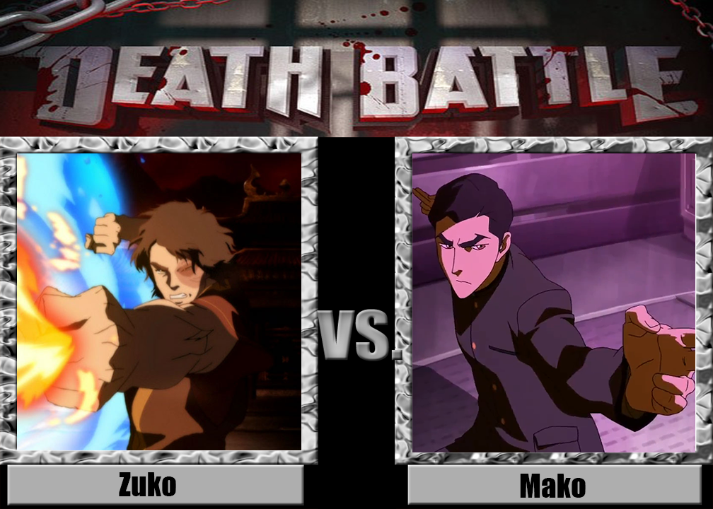 Death Battle: Zuko vs Mako by Netherman14 on DeviantArt