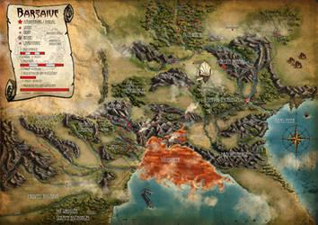 Earthdawn Barsaive Map