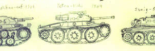 Yudsveddic Light Tanks