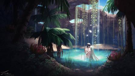 Hidden Oasis by Aeollon