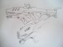 SR_ECEL Lightning Gun Concept by Cheezjet
