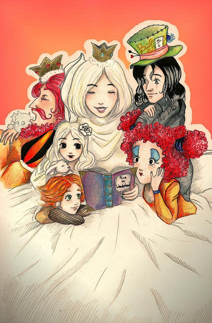 """""""Alice opened the door..."""" by Elsaaaa"""