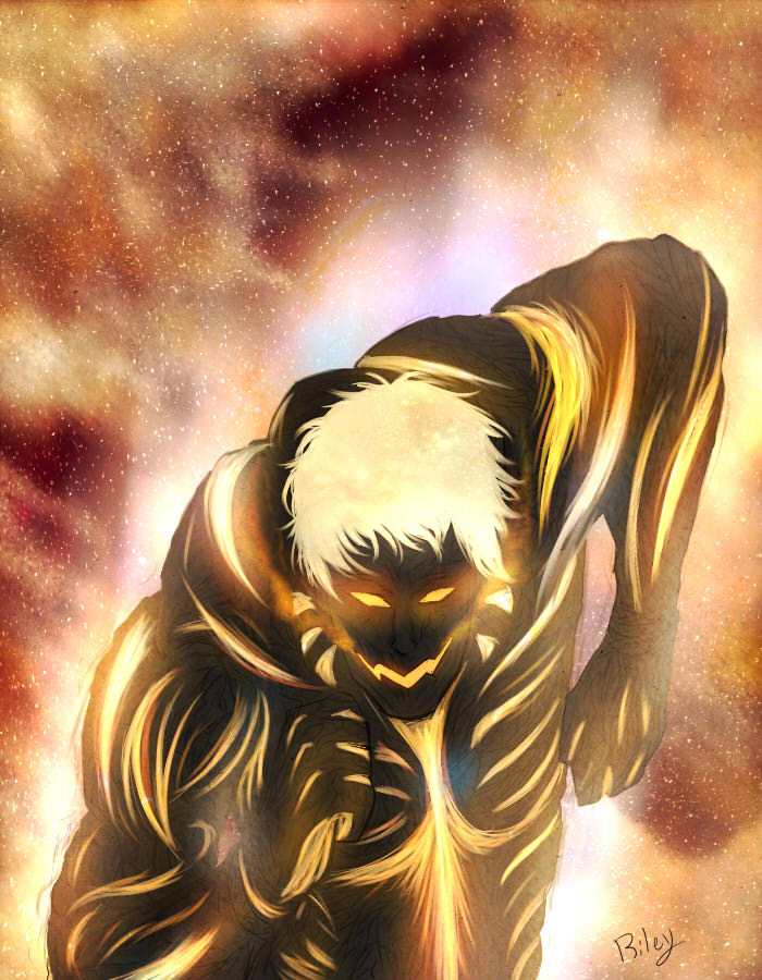 Attack On Space The Armored Titan By Xnepquiusx On Deviantart