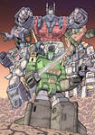 Ultra Magnus and The Wreckers