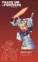 Grimlock poster by J-Rayner