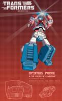 Optimus Prime poster by J-Rayner