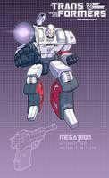 Megatron poster by J-Rayner