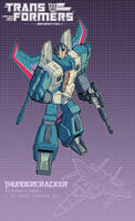 Thundercracker poster by J-Rayner