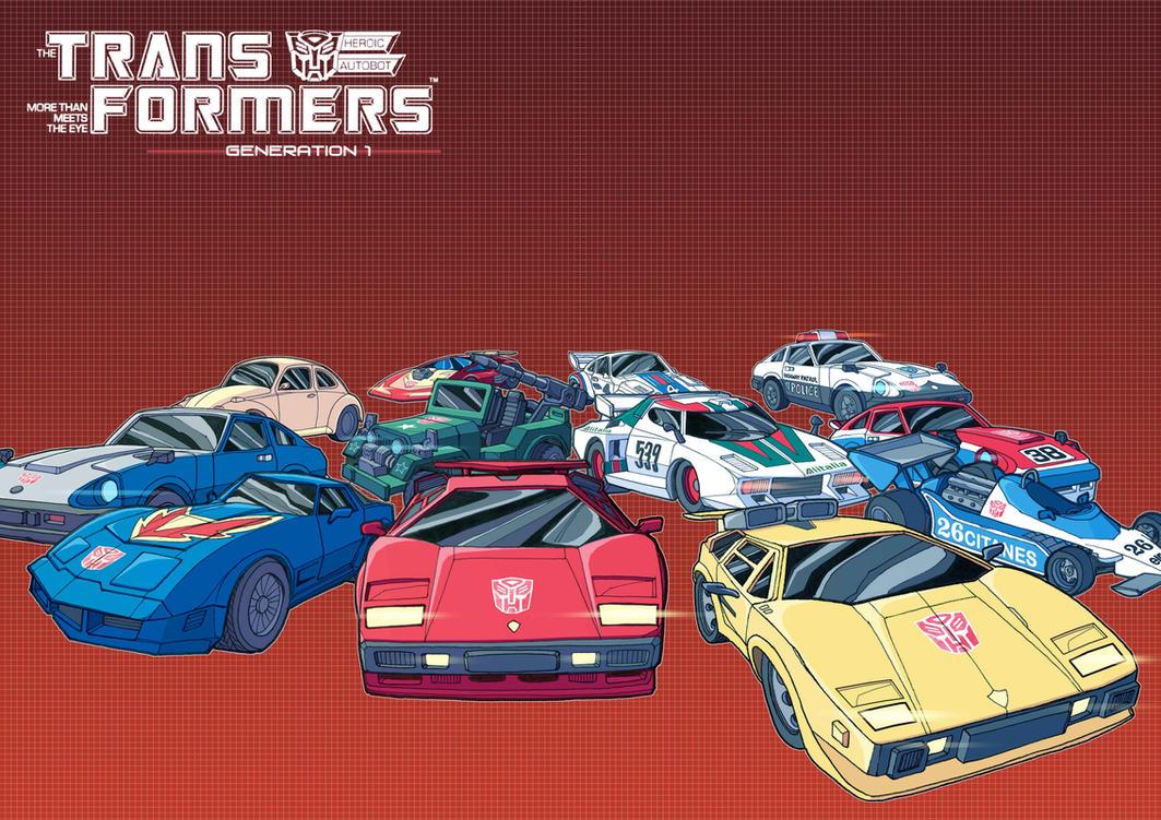 G1 Cars by J-Rayner