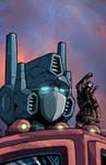 Optimus Prime and Snake Eyes
