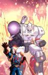 Blast them into eternity, Megatron! by J-Rayner