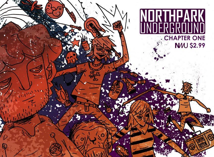 Northpark Print Cover